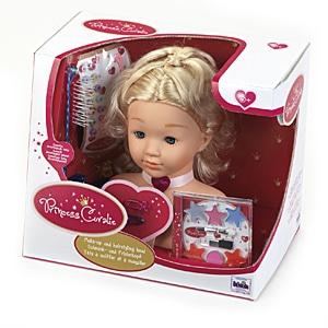 Princess Coralie Schmink Und Frisierkopf Mittel Klein Toys