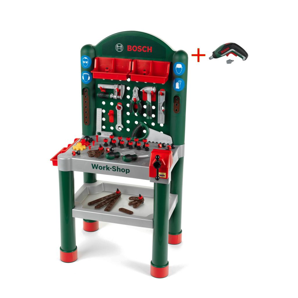 bosch workshop mit ixolino ii - klein toys