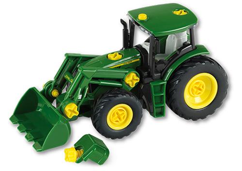 john deere traktor mit frontlader und gewicht klein toys. Black Bedroom Furniture Sets. Home Design Ideas