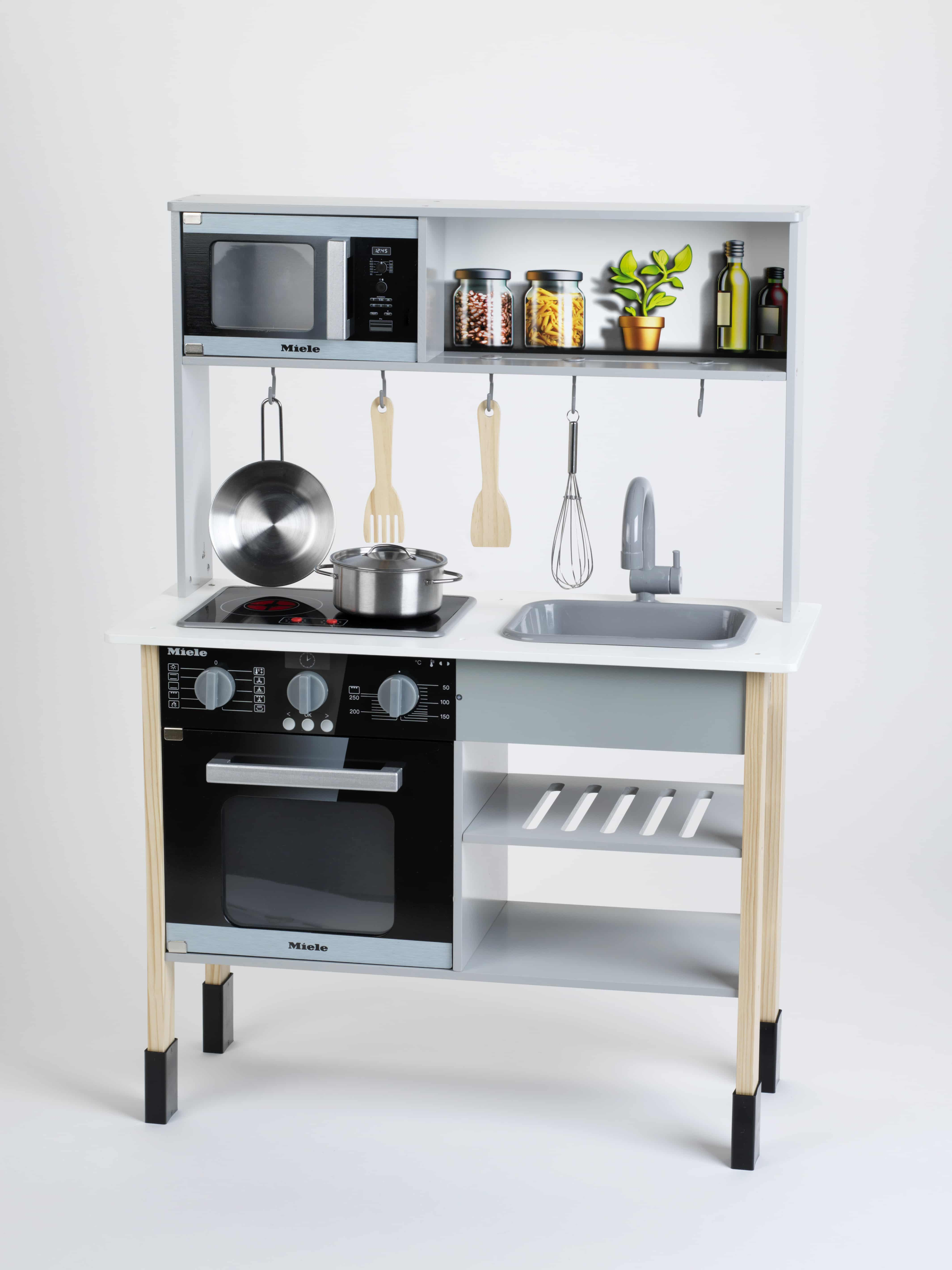 Toy Kitchen, Miele, Wood (MDF)