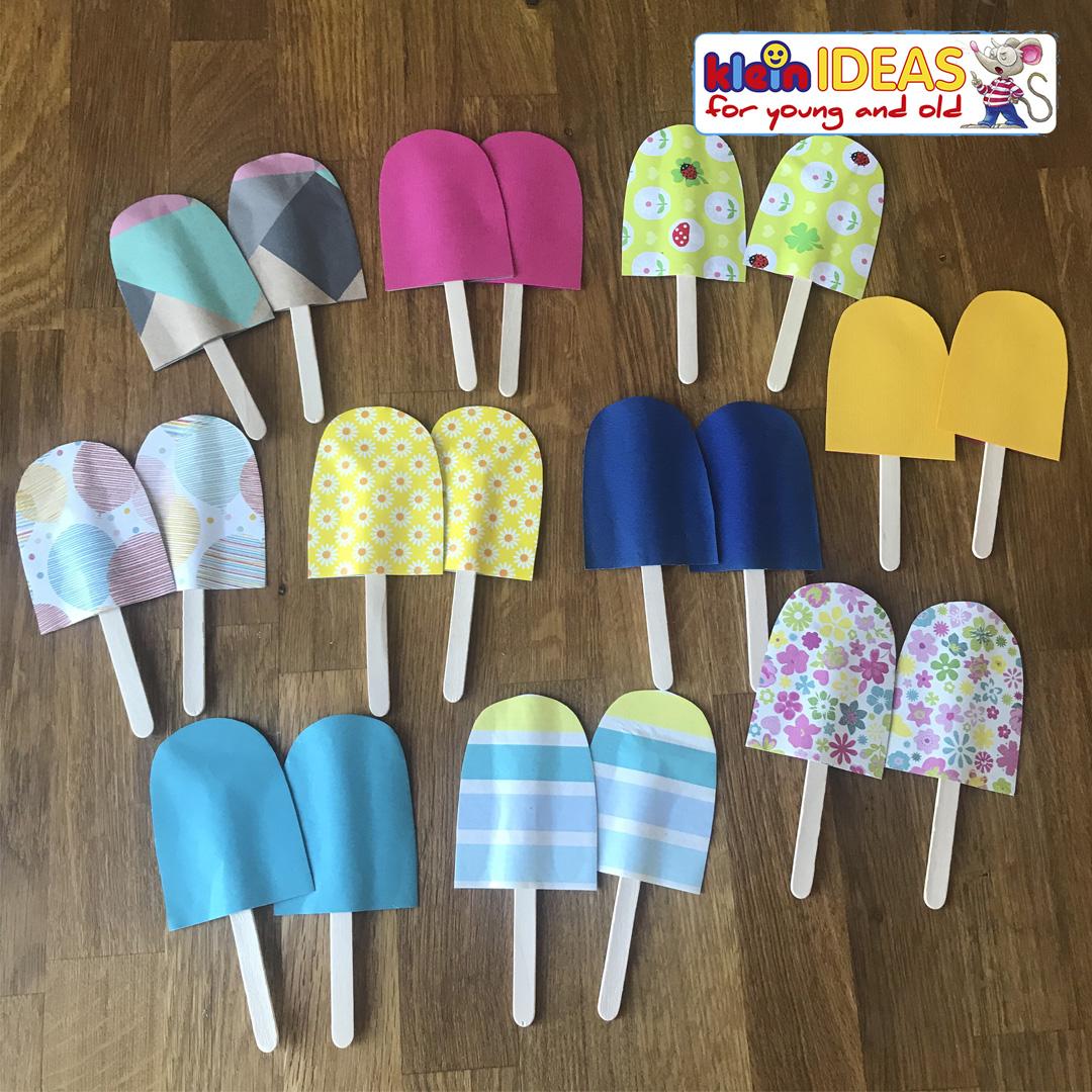 DIY – Popsicle Memory Game